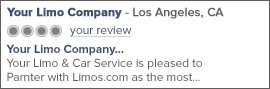 Los Angeles Limo Service Reviews