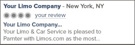New York Limo Service Reviews