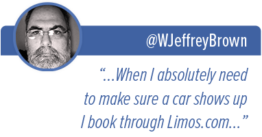 "@WJeffreyBrown - ""...When I absolutely need to make sure a car shows up I book through limos.com..."""